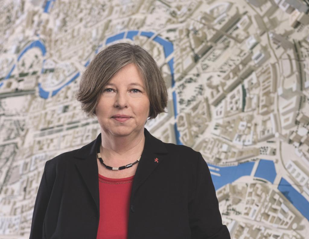 Senatorin Katrin Lompscher